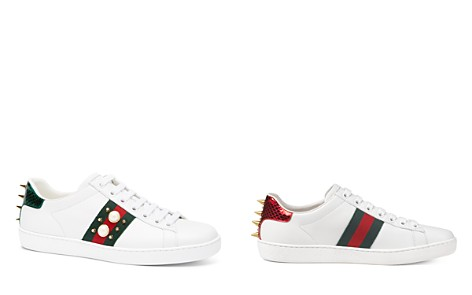 Gucci New Ace Lace Up Sneakers - Bloomingdale's_2
